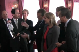 Video: uitreiking Dutch Hotel Award 2012