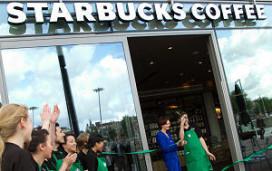Starbucks in DoubleTree by Hilton Amsterdam