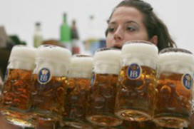 Minder bezoekers bij start Oktoberfest München