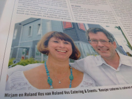 Roland Vos catert Jood Muziek Festival