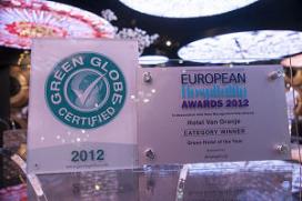 European Hospitality Award voor Hotels van Oranje