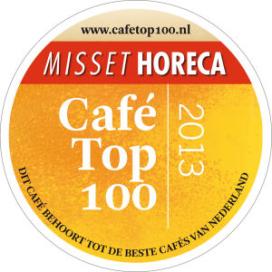 Café Top 100 2013: Café Hoppe op nummer 1