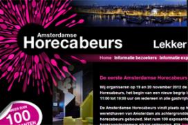 Amsterdam krijgt nieuwe horecabeurs