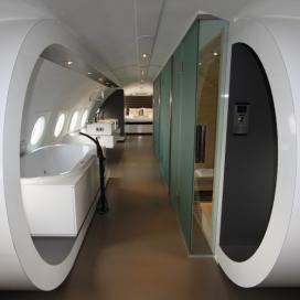 Vliegtuigsuite Mooiste Hotelkamer van Nederland 2012