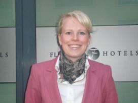 Trudy van der Hulst hotelmanager Fletcher Hotel Amsterdam