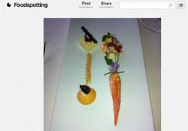 Eten fotograferen in restaurants populair