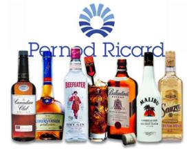 Lastig eerste kwartaal voor Pernod Ricard