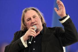 Acteur Depardieu opent restaurant in Rusland