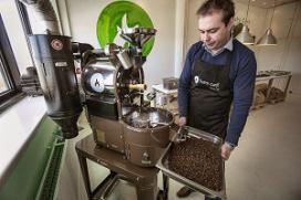 Zelf bonen branden koffietrend van 2013
