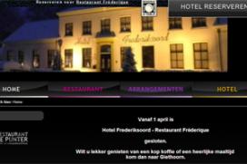 Deuren hotel Frederiksoord dicht