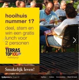 Het Hooihuis wint publieksprijs Terras Top 100