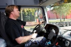 Hotel regelt vervangende vrachtwagenchauffeur