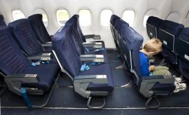 Nu ook kindvrije zones in vliegtuigen