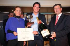 Emiel Kwekkeboom wint Prix Taittinger Benelux