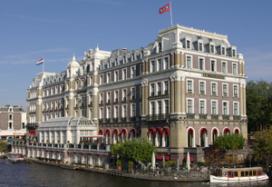 Amstel Hotel in de etalage gezet