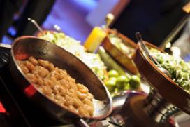 30 procent voedsel partycatering weggegooid