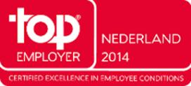 Center Parcs gecertificeerd als Top Employer Nederland 2014