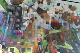 Plafondschildering Markthal Rotterdam voltooid