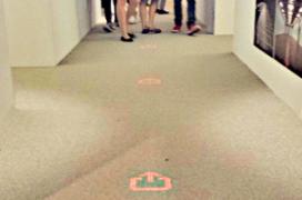 Lichtgevend tapijt biedt hotels mogelijkheden
