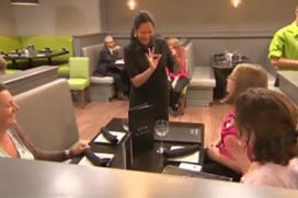 Nieuw restaurant: dove obers, bestellen in gebarentaal