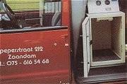 Mobiele kasten voor gekoeld en verwarmd vervoer