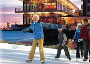 Delta Hotel krijgt ijsbaan