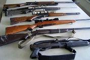 Dieven stalen wapens bij restaurant