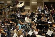 Orkest ziet muziek in hotel the Westin