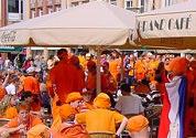 Cafés krijgen vrij baan voor oranje