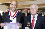 Maître Kragtwijk geïnaugureerd