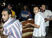 Bloedbad na bommen in restaurants