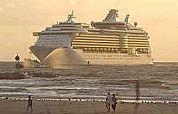 Cruise-euro's rollen in Amsterdam