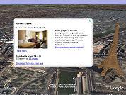 Satellietbeelden hotels bij Bookings