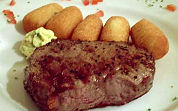 Biefstuk zonder spinazie schadelijk