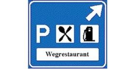 Schrappen borden ramp voor wegrestaurants