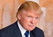 Donald Trump lonkt naar Montenegro
