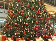 Hotel heeft kerstboomhumor