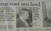 Belg mogelijk hoofdinspecteur Nederland