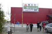 Chinese markt trekt massa bezoekers