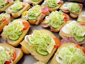 Hutten Catering in Food Experience