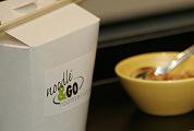 Noodle & Go in hotelkamers Banks Mansion