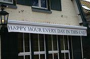Kamervragen over happy hour-plan