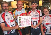 Tour Culinair steunt bijzondere fietsclub
