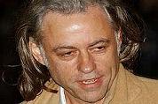 Bob Geldof op partij Ins & Outs Catering
