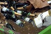 Belgen vernietigen nepchampagne