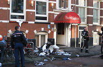 Amsterdams hotel ontruimd na brand