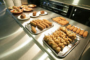 Snacks op retour in bedrijfsrestaurant