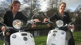 Milieuvriendelijke scooters voor Eden