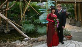 Eerste huwelijk op vakantiepark