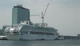 Cruisemarkt Amsterdam groeit hard